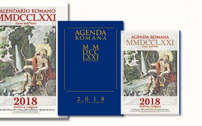 Calendario Romano e Agenda dell'anno MMDCCLXXI a.V.c. • 2018 e.v.
