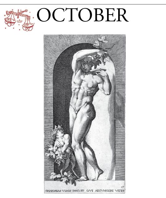 Calendario delle Attività di Ottobre