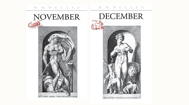 Calendario delle Attività di Novembre e Dicembre